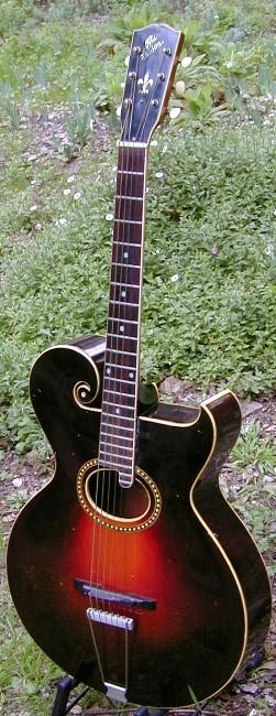 vintage guitars info gibson archtop vintage guitar collecting. Black Bedroom Furniture Sets. Home Design Ideas