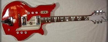 numbers serial Vintage guitars national