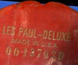Paul Les Deluxe Dating Gibson
