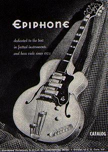 vintage epiphone guitars