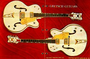 guitare archtop de jazz