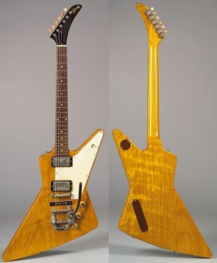 Vintage Guitars Info Gibson Solidbody Vintage Guitar