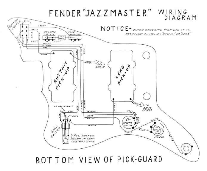 Duosonic · Esquire Jaguar Jazzmaster: Jazzmaster Wiring Diagram Guitar At Aslink.org