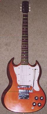 Vintage Guitars Info - Gibson solidbody vintage guitar collecting